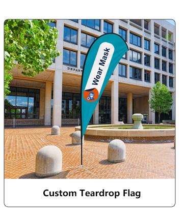 Custom Teardrop Flag