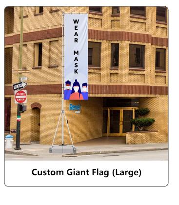 Custom Giant Flag (Large)