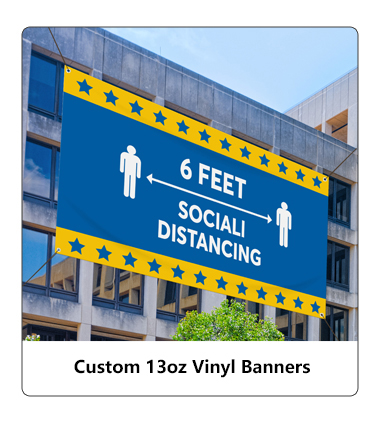 Custom 13oz Vinyl Banners