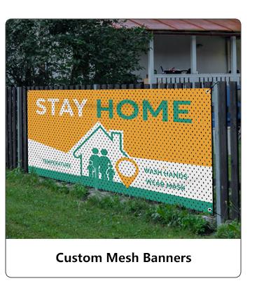 Custom Mesh Banners