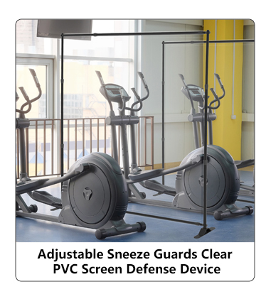 Adjustable Sneeze Guards  Shield